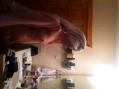 after bathroom cougar hidden cam Trio