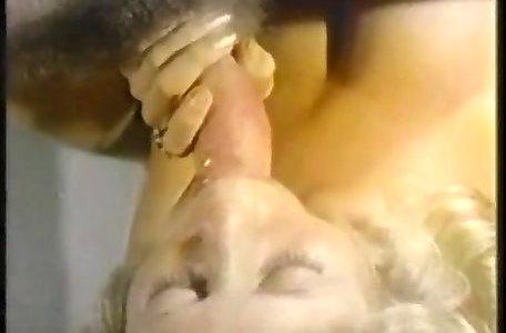 Antique ash-blonde for cum