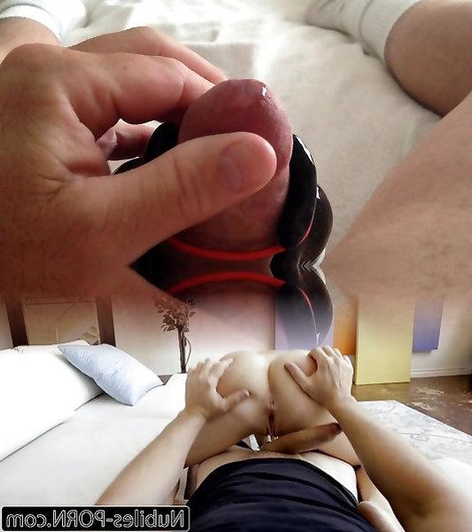Pulsierende Throbbing Cum-Mund