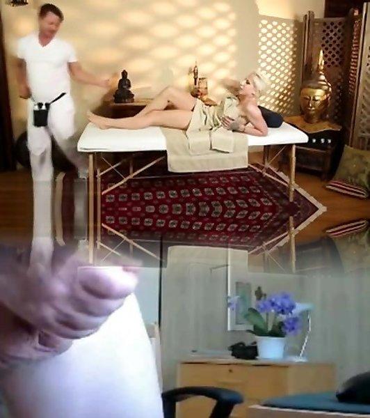этом скрытая камера секс массажа стола