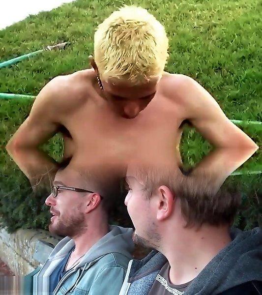 csak a meleg férfiak nyalogatják a péniszeket a pénisz rosszul állt