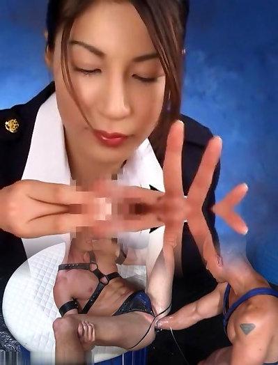 Exotic Japanese slut Marin Koyanagi, Alice Suzuki in Incredible Cunnilingus, Teens JAV clip