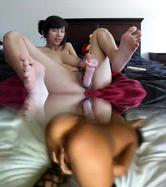 Asian, Dildo Pussy