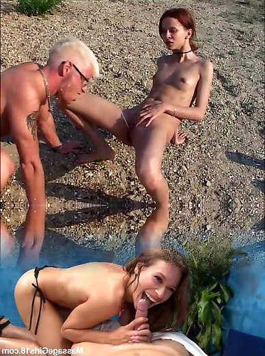 Outdoor, Teen Fucked