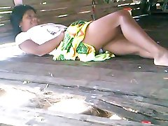 Embera native couple having sex