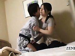 Subtitle Japanese milf handjob hotel massage gone wrong