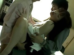 Miss Lady Professor (Threesome erotic scene) MFM