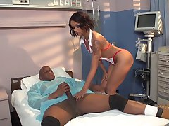 sexy nurse gettin banged