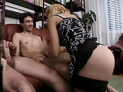 Sexy Euro Milf getting all holes filled ( Jessika Forister )