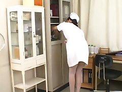 asian nurse blowjob