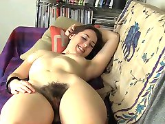 Hairy Dildo Masturbation BVR