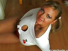 Busty teen Malina May