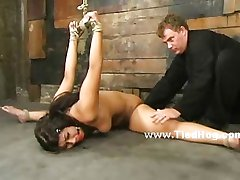 Indonesian slave fetish bondage video