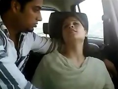 Northindian young Couples enjoyed in CAR Part-I