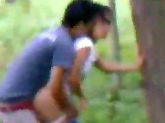 Pinay Boso- Kapitbahay doggy sa likod