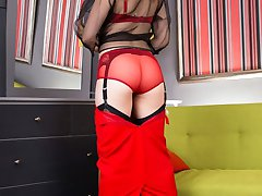 Tiffany soon finds out the sexual appeal of retro and vintage lingerie and fully fashioned...