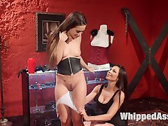 Kirsten Price and Cassidy Klein go out shopping for corsets when, inspired by the kinky attire,...