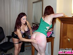 Scarlet Learns About Oral and Spanking