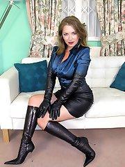 Lady Leather Satin