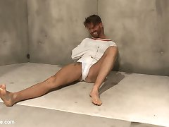 Sebastian Keys and Jessie Colter have Brendan Patrick under strict observation in the psych...