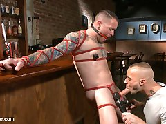 Max Camerons working the bar, and hes up to some dirty tricks-- sneaking suspicious drinks for...