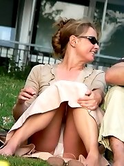 Mouth watering free gallery with upskirt voyeurs