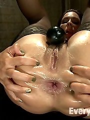 Two gorgeous women get sexually dominated and thoroughly sodomized by a powerful domme!...