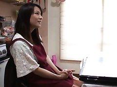 Japanese AV Model shows her skilled hands as JapaneseSlurp.com