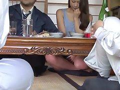Crazy Japanese slut Miki Shibuya, Miyu Kotohara, Asuka Kyono in Horny cunnilingus, threesomes JAV movie