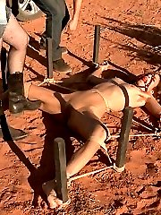 Desperate whore Amber is in need of a ride. She is out in the middle of nowhere. Completely...