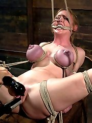 Darling returns to Wiredpussy for a long day of predicament bondage, electricity, ass hooks, and...