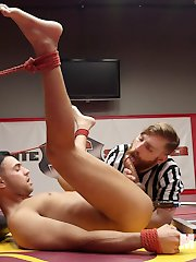 Coach Sebastian Keys cant resist seducing the new team member, Josh Conners. Josh is quick to...
