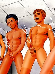 free gay anime