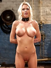 When porn star Riley Evens comes to The Training of O, she learns that it takes more than a big set of tits, bleach blonde hair and an LA tan to be a slave.