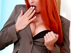 TS redhead Liberty strips & jerks