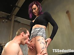 Welcome River Stark to TS Seduction! River plays a tough movie director that expects nothing but...