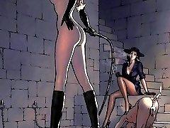 femdom strapon anime hentai