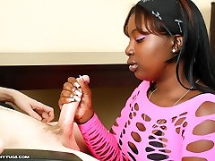 Chinas First Time - Interracial Hand Jobs Ebonytugs.com