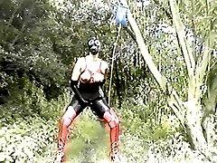 Heavy rubber outdoor enema