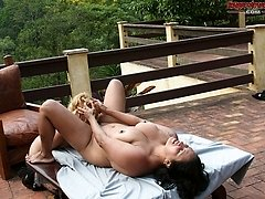 Insatiable mature whore gets fisted by a hot teen