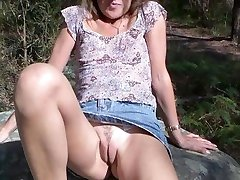 sexy matures bending over in public