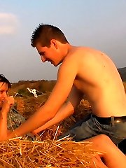 As the sun sets, these teenagers from Dorf turn things on. They start to work to satisfy each other. Using their arms and their sexual parts to make each other ejaculation.