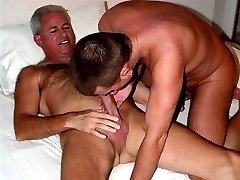 Two BI Husbands have some COCK and CUM