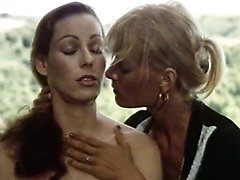 Annette Haven, Lisa De Leeuw, Paul Thomas in vintage xxx video