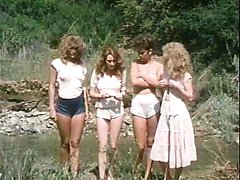 Jacqueline Lorians, Brooke Fields, Debi Diamond in vintage fuck movie