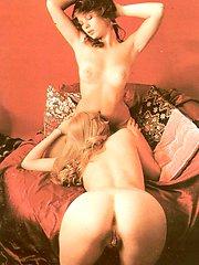 Vintage lesbians stroking