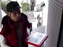 Pizza boy delivers
