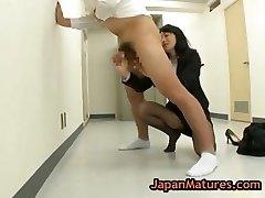 Natsumi kitahara rimming certains gars part1