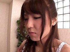 Exotiques, Japonais, adolescent fille Kokoro Maki en plus chaud rimming, couple JAV scène