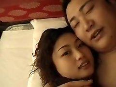 chino enfermera de sexo con un oficial de la
